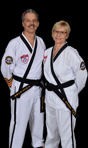 Master Celestino Argudin and Mrs. Karen Argudin Port St John Black Belt Academy